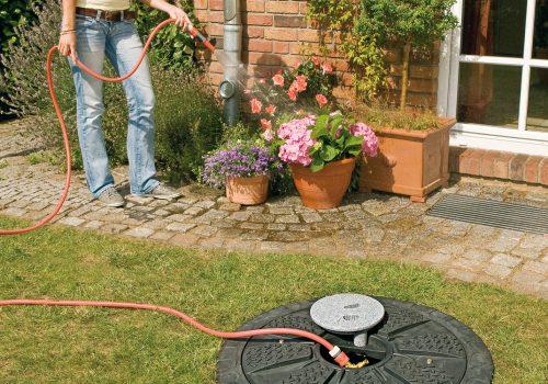 Garten-Komplettanlage Basic