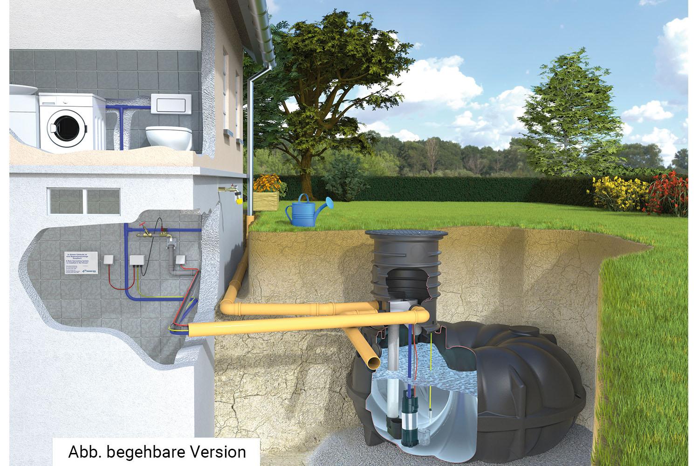 regenwassernutzung im haus haus komplettanlagen. Black Bedroom Furniture Sets. Home Design Ideas